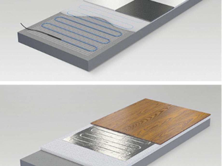 Elektrische Fußbodenheizung Laminat Test
